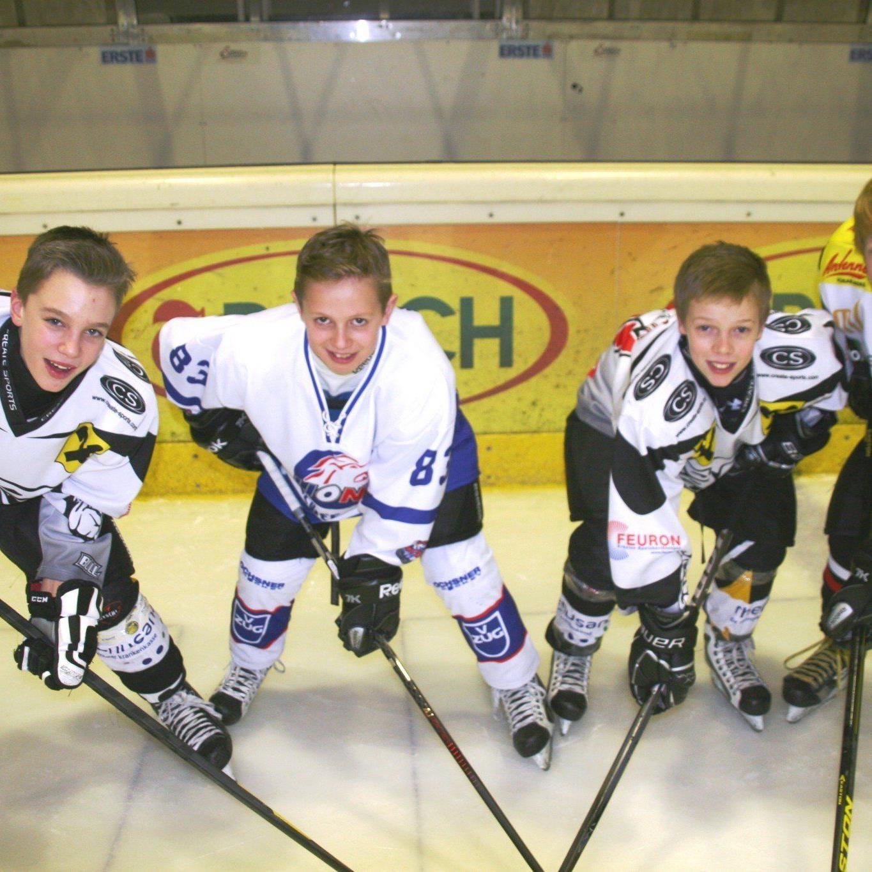 Marco Rossi, Julian Metzler, Julian Payer und Dominik Rauter sind in Quebec mit von der Partie.