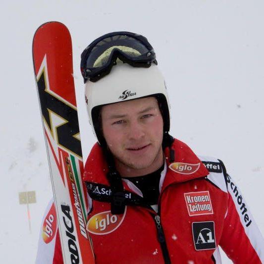 Der Dornbirner Bernhard Graf wurde 24 und holt EC-Punkte.