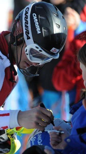 Christian Hirschbühl gewinnt abermals einen FIS Slalom und befindet sich in Topform.