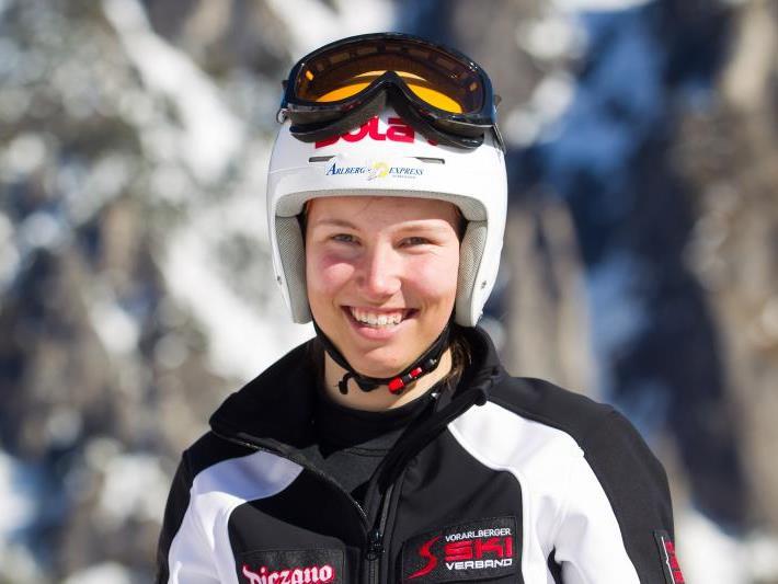 Die Götznerin Christine Scheyer vor dem Sprung in den ÖSV Kader.
