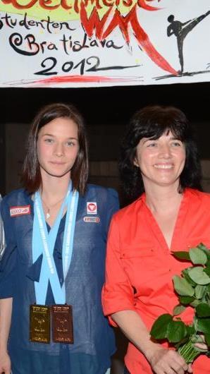 Die Feldkircherin Bettina Plank vom KC Mäder wurde Vizeeuropameisterin in der 53 kg Klasse.