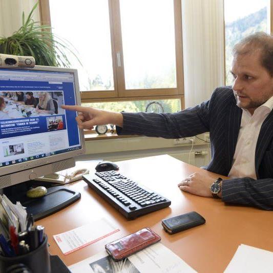 Sebastian Manhart wurde zum neuen Geschäftsführer des Sportservice erstgereiht.