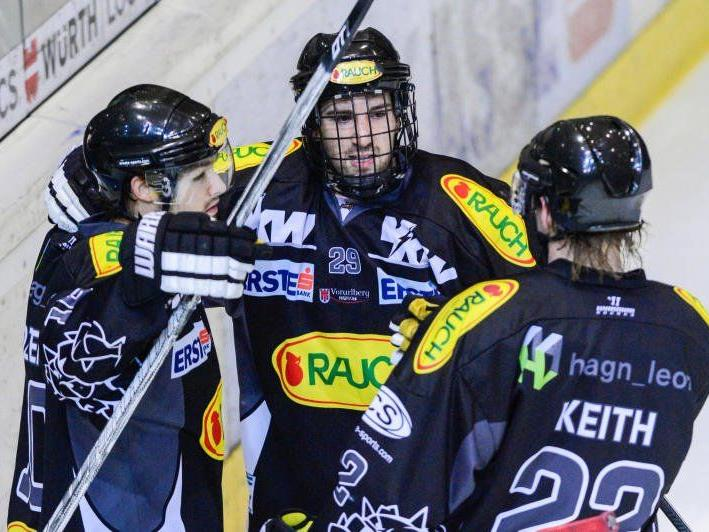 Der EC Dornbirn will mit zwei Heimsiegen weiter um das Play-off Ticket ein Wörtchen mitreden