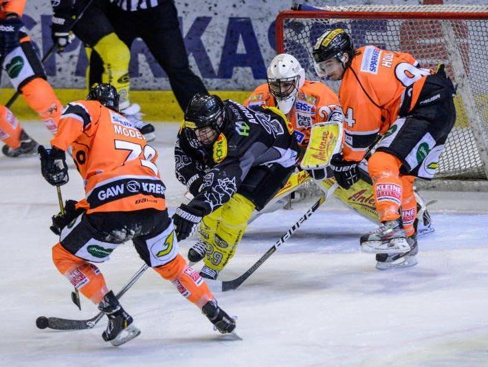 EC Dornbirn braucht im Kampf um das Play-off Ticket gegen Laibach den vierten Sieg.