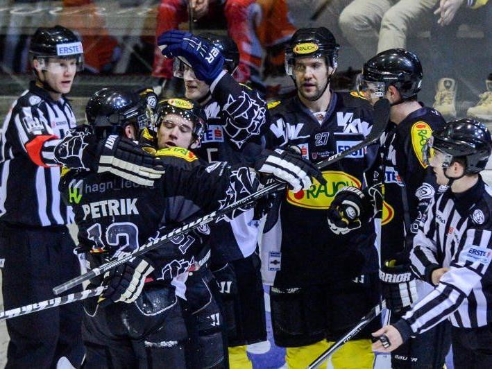 Der EC Dornbirn will gegen Laibach gewinnen, dann könnte man auf dem zweiten Tabellenplatz stehen.