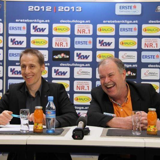 DEC Manager Alex Kutzer setzt die nächsten drei Jahre auf Trainer Dave MacQueen.