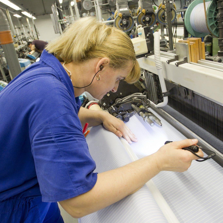 Getzner Textil ist eines der Unternehmen im Energieeffizienz-Netzwerk Vorarlberg.