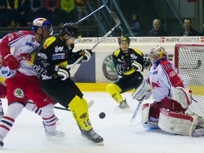 Andrew Kozek schoss mit seinem Triplepack den EC Dornbirn gegen Fehervar zum 5:3-Heimsieg.