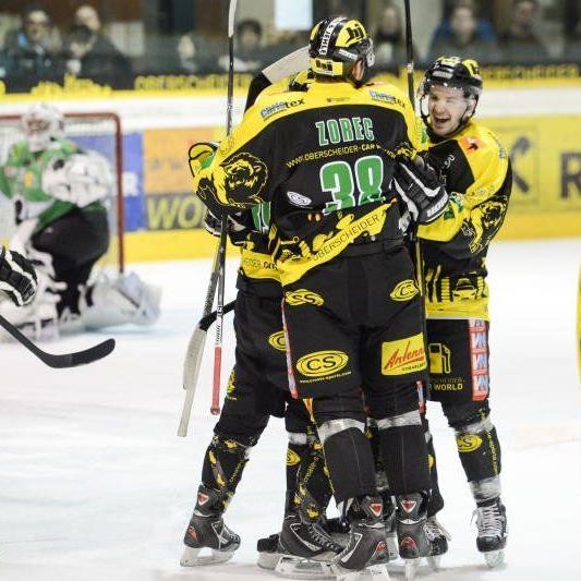 Der EHC Lustenau gewinnt das letzte Heimspiel mit 3:1.