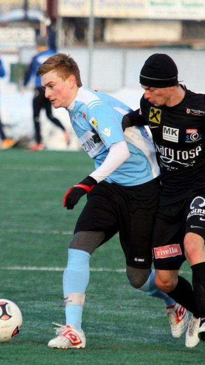 Langenegg-Mittelfeldspieler Patrick Maldoner erzielte ein Doppelpack im Test gegen SC Bregenz.