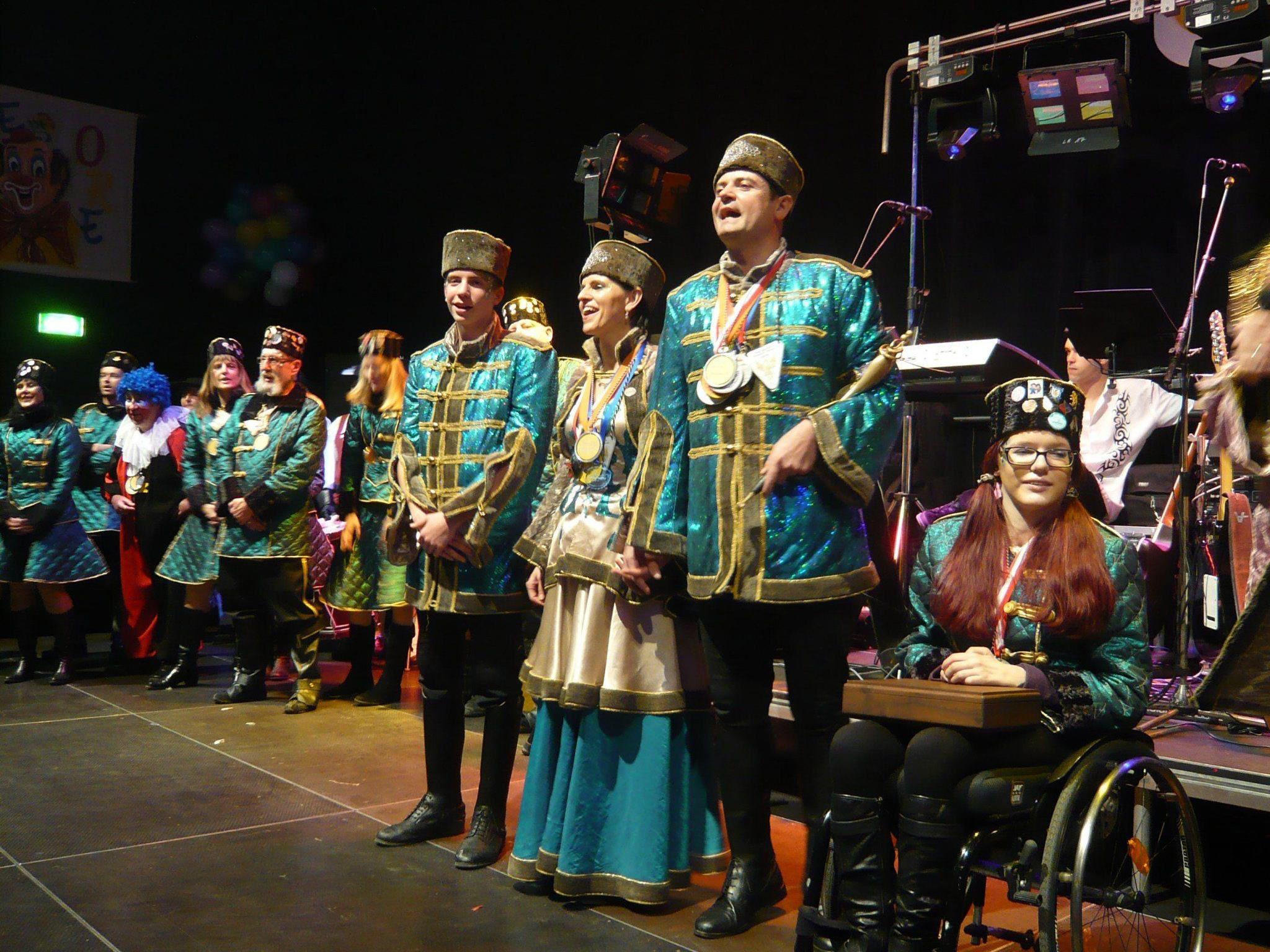 Das Prinzenpaar gab in grandioser Show sein Bregenz-Lied zum Besten.