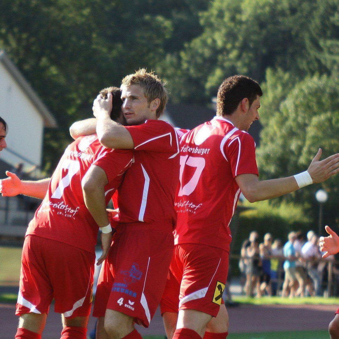 FC RW Rankweil will in der Rückrunde wieder jubeln und den treuen Fans guten Fußball präsentieren.