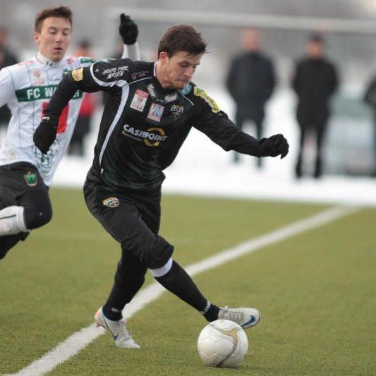 Daniel Schöpf spielte im Test von Altach und Innsbruck 45 Minuten lang im zentralen Mittelfeld.