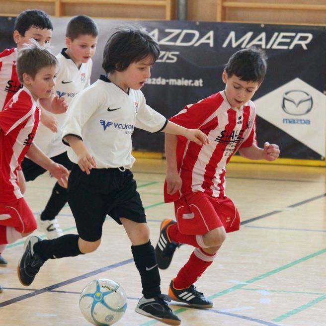 Mit viel Eifer und Begeisterung waren die Unter-8-Jährigen beim Turnier in Rankweil im Einsatz.