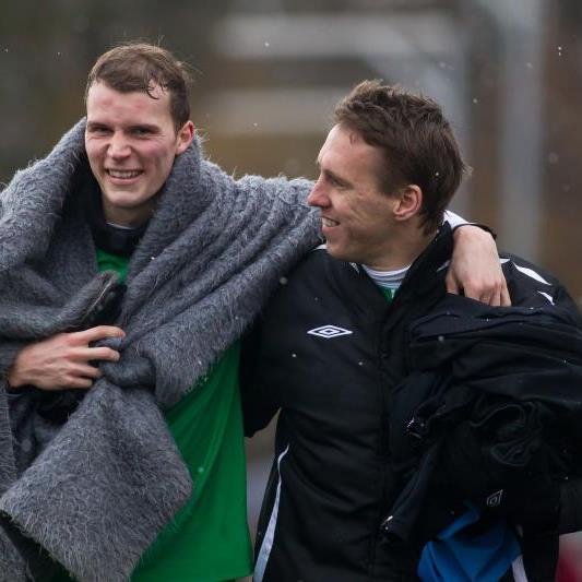 Jan Zwischenbrugger schied kurz vor dem Schluss im Test gegen Dornbirn verletzt aus.