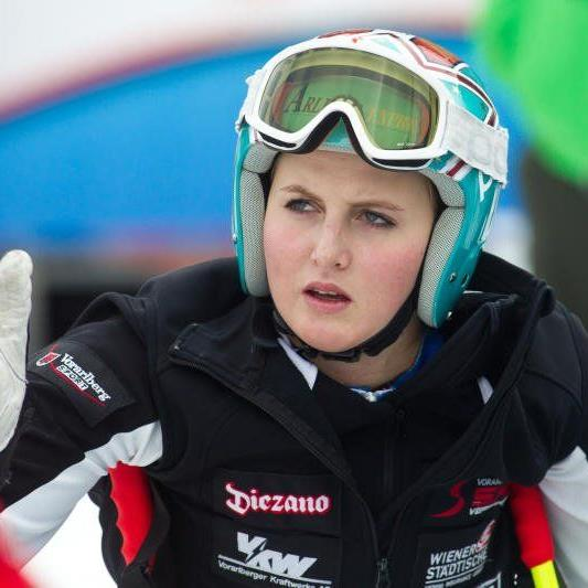 Nina Ortlieb qualifizierte sich erstmals für eine Weltmeisterschaft und hofft auf gute Ergebnisse.
