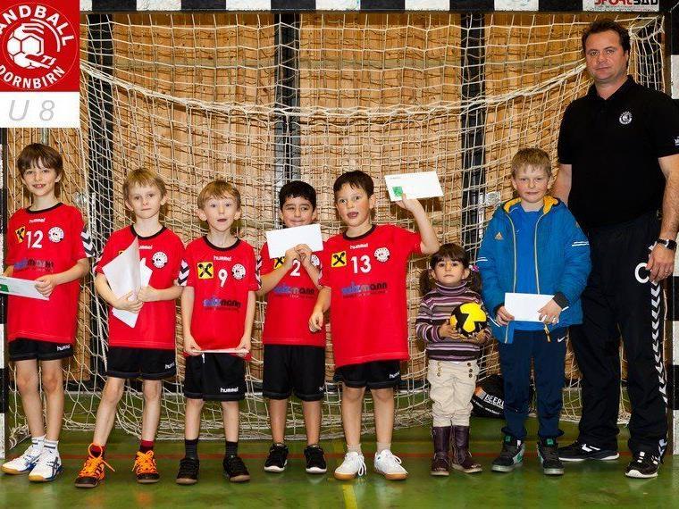 Team U 8, TS Dornbirn Hnadball