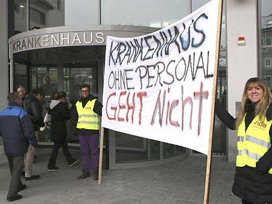 In den Spitälern war es zu Protesten gekommen