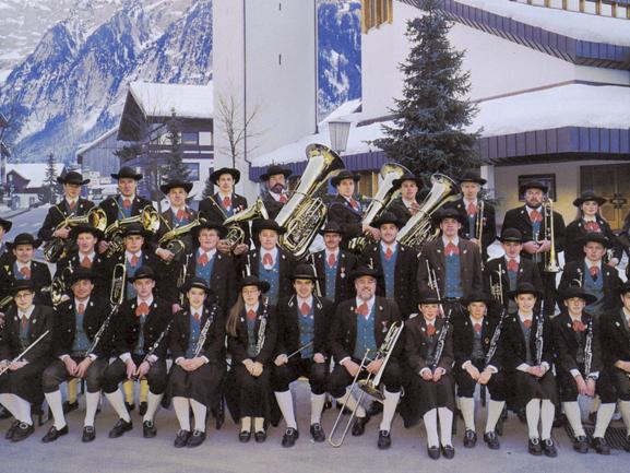 Musikverein Mellau beim 100jährigen Jubiläum