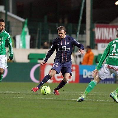 Beckham war diesmal kein Glücksbringer für PSG