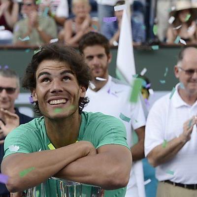 Nadal genoss minutenlangen Jubel um seine Person