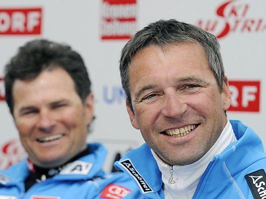 Kriechbaum (r.) folgt Mandl als Damen-Cheftrainer