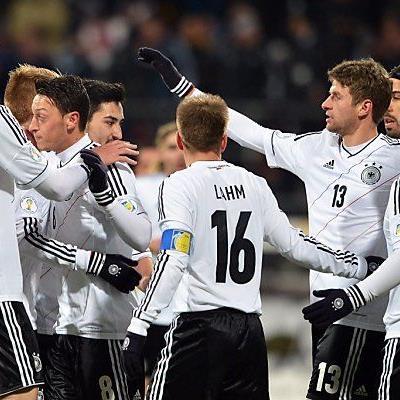 Deutschland feierte Pflichtsieg
