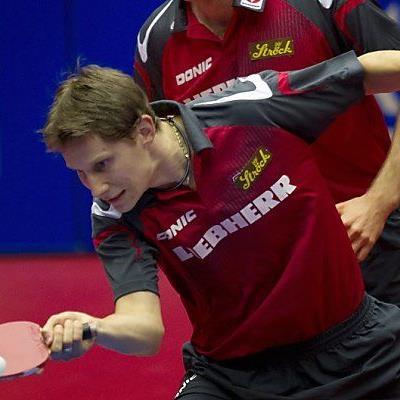 Gardos gewann sein Einzel und Doppel mit Habesohn