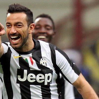 Quagliarella brachte Juve in Führung