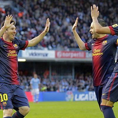 Messis Devise: Pro Spiel, ein Rekord