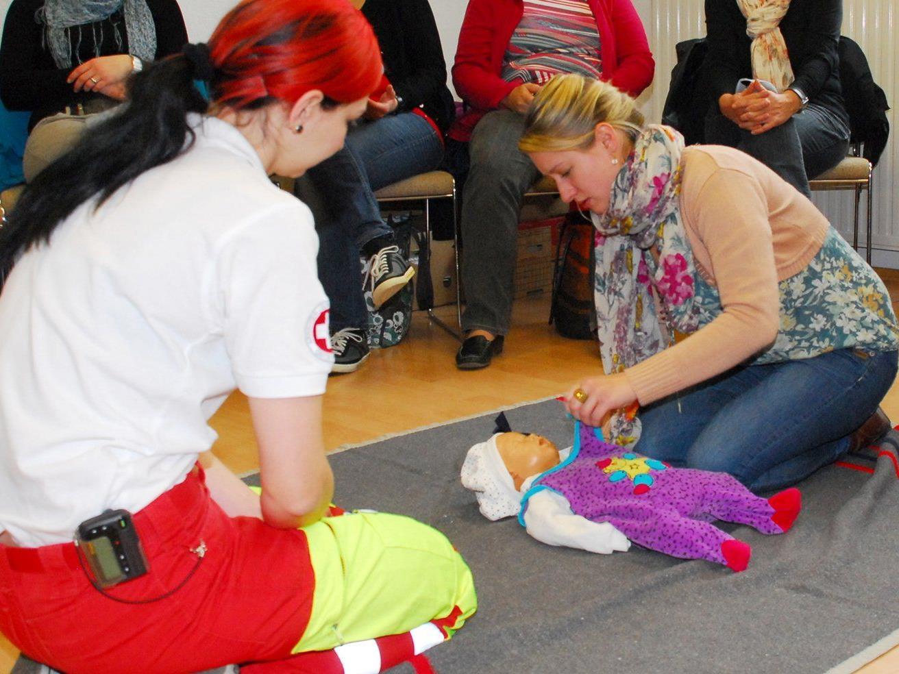 Erste Hilfe Kurs für Kleinkinder