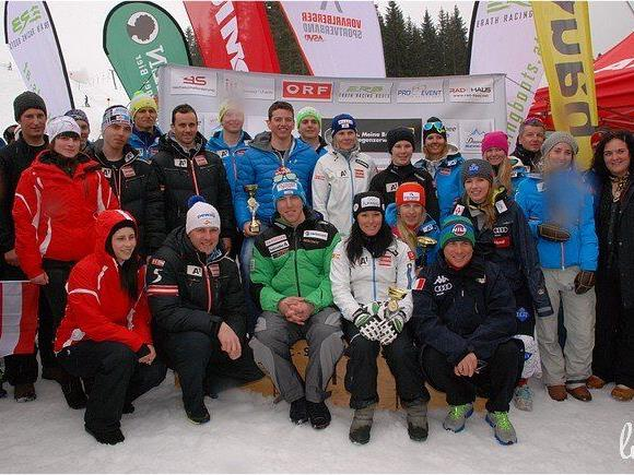 Skirennläufer aus dem Weltcupzirkus