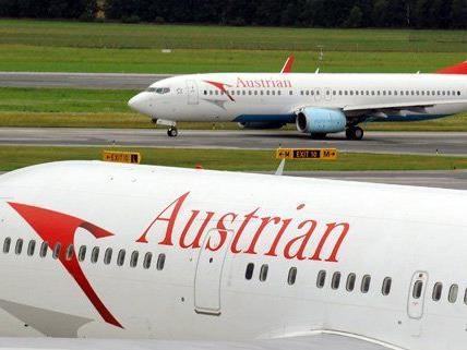 Auch Flüge der AUA fallen wegen des Streiks in Düsseldorf aus