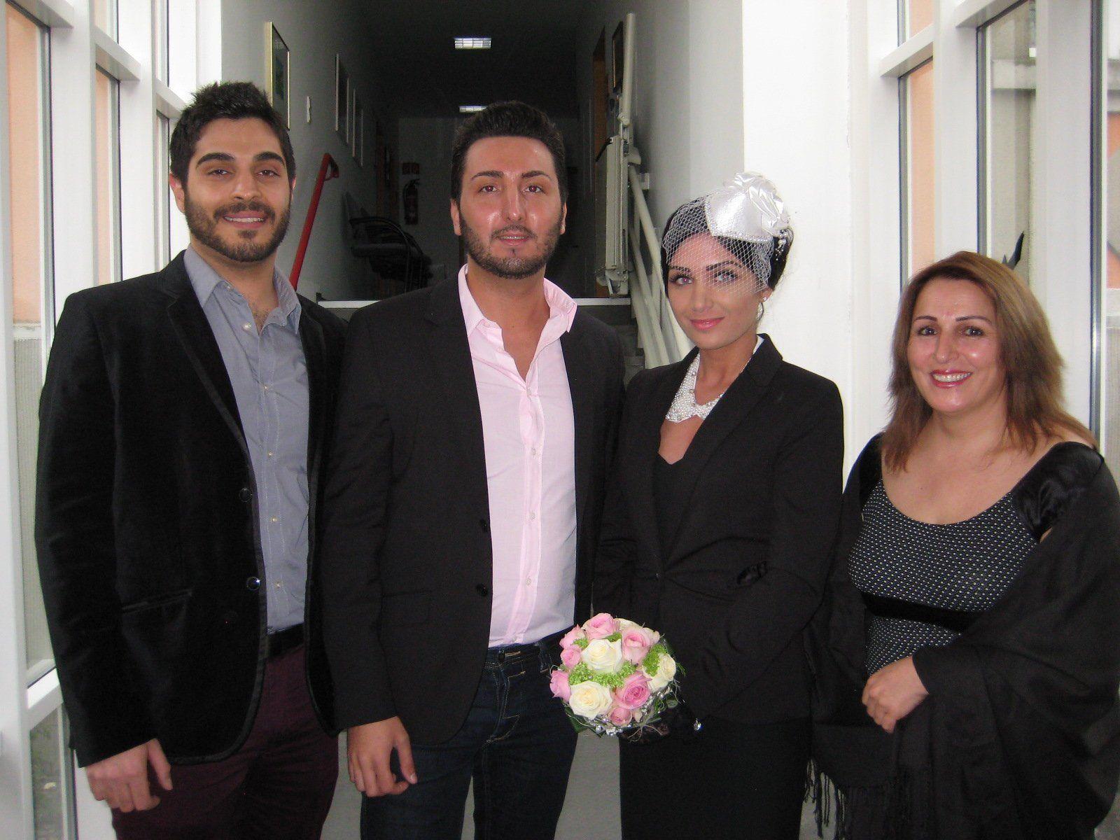 Selin Karahan und Güney Yilmaz haben geheiratet.