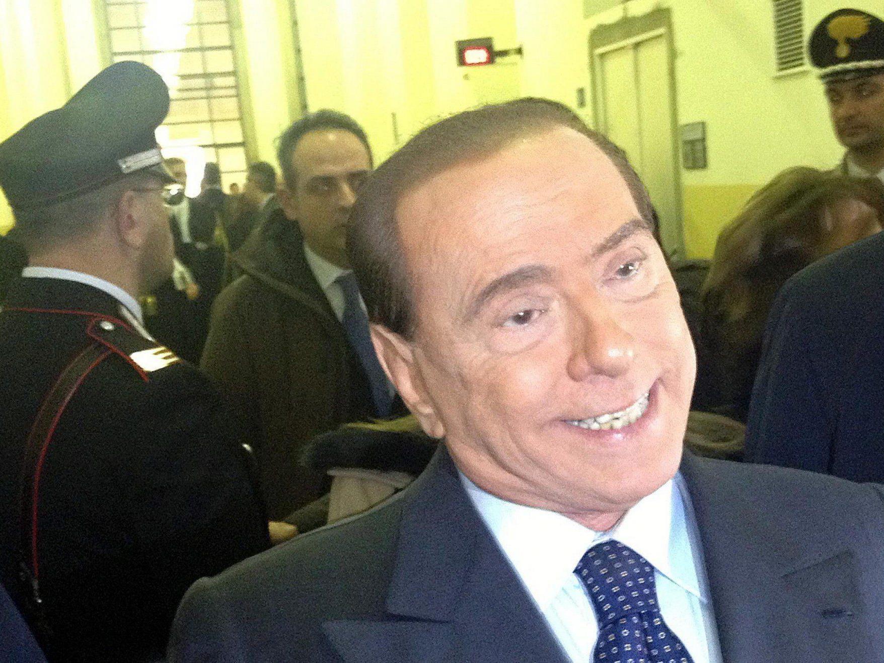Das Urteil im Unipol-Prozess lautet ein Jahr Haft gegen Silvio Berlusconi.