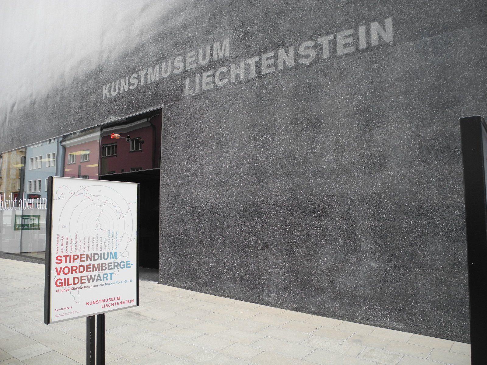 """Im Kunstmuseum Liechtenstein ist die Ausstellung """"Stipendium Vordernberge-Gildewart 2013"""" zu sehen"""