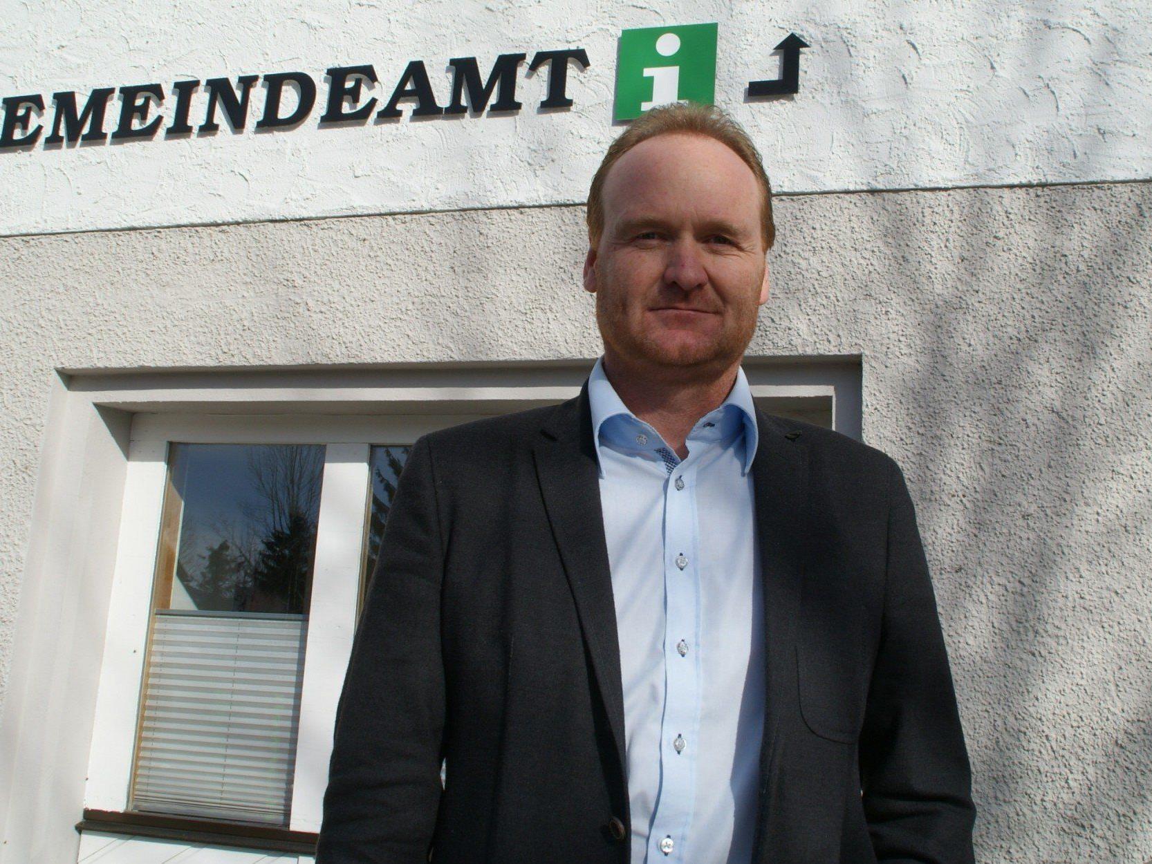 Bürgermeister Guido Flatz