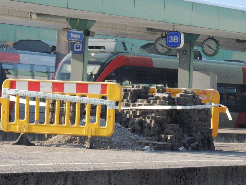 Bahnsteige werden saniert