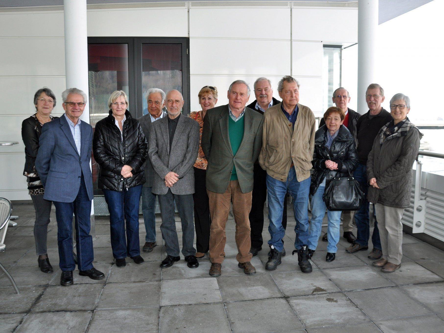 Die Senioren der Zumtobel Group lernten die Vielfalt von Russmedia kennen.