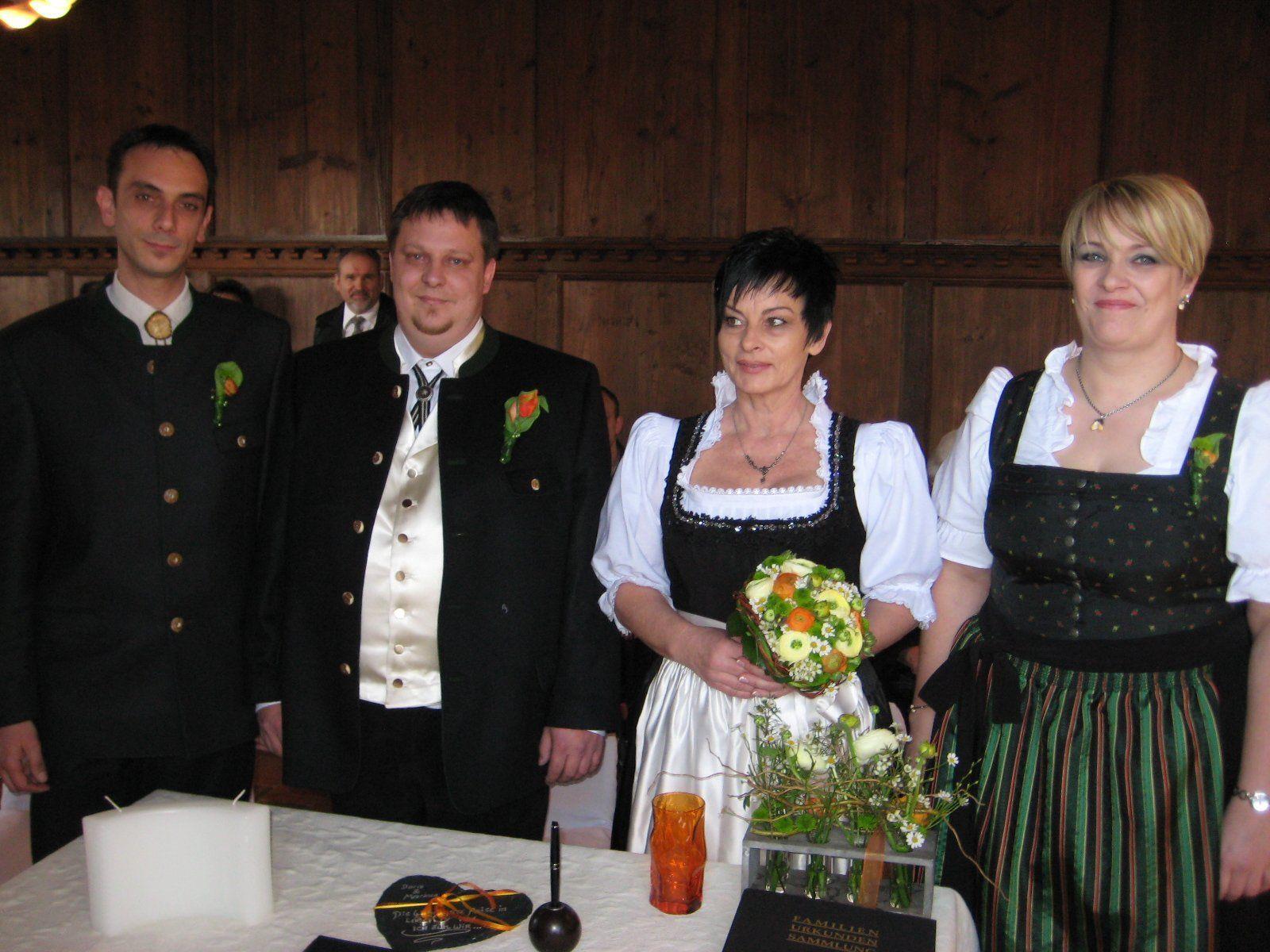 Doris Steiner und Markus Findrik haben geheiratet.