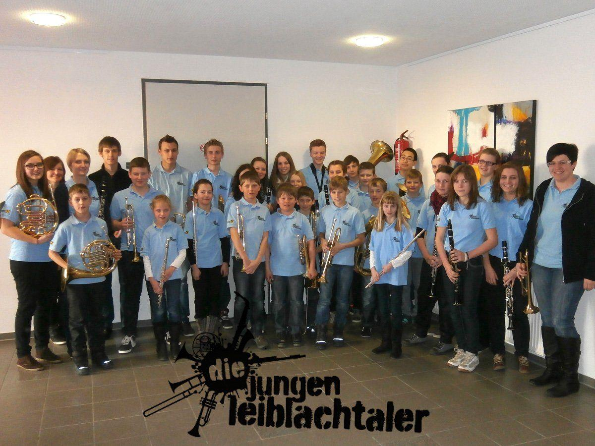 """Das Nachwuchsblasorchester """"Die Jungen Leiblachtaler"""" lud zum YMMC-Young Mixed Music Concert nach Eichenberg."""