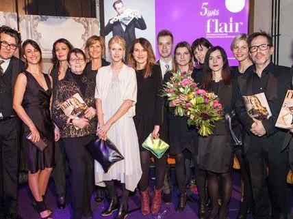 flair, Österreichs erstes internationales Modemagazin lud heute Abend zum 5 Jahre flair-Fest ins Semperdepot