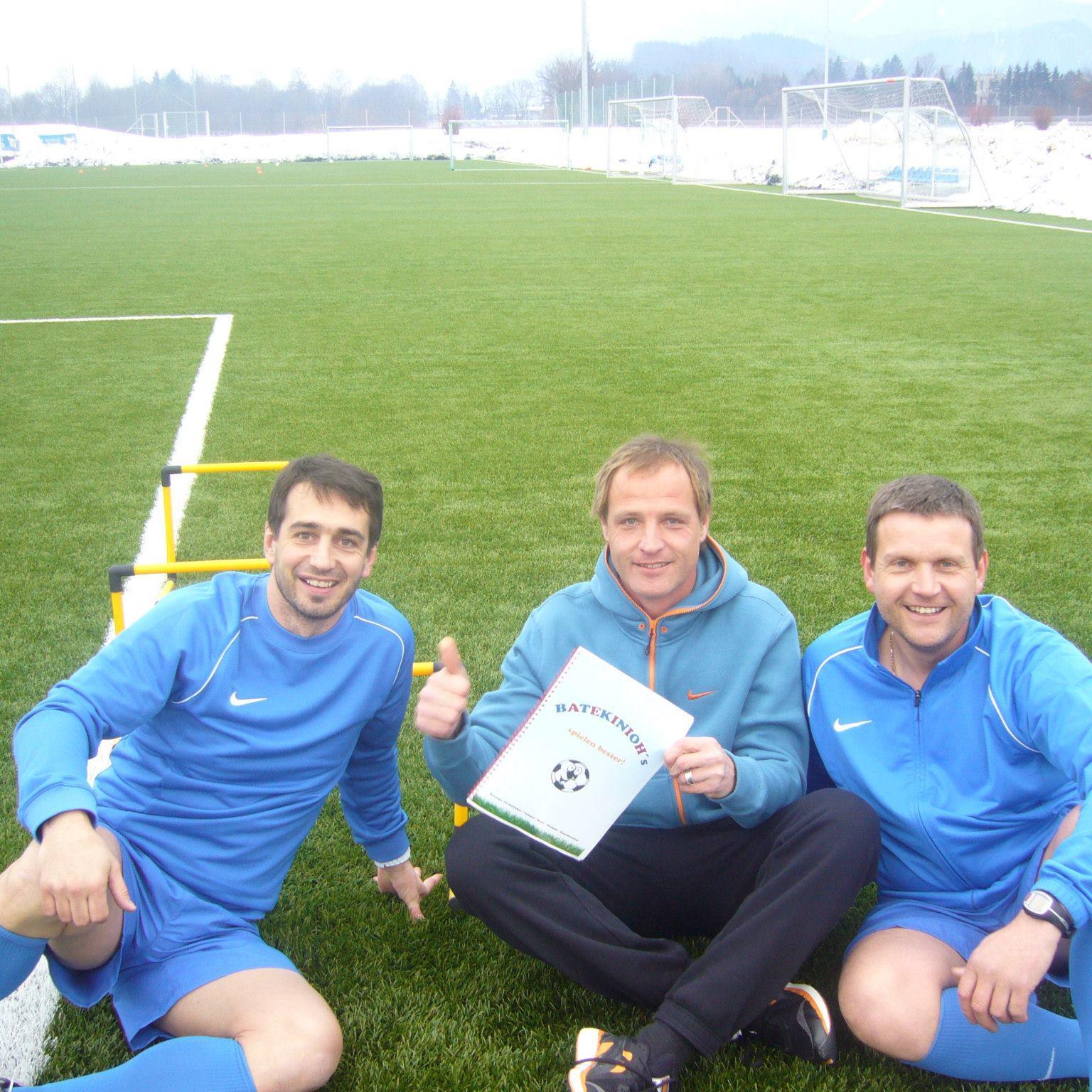 Didi Berchtold, Wolfgang Kühne und Schirmherr Heimo Pfeifenberger freuen sich auf die neue Aufgabe.