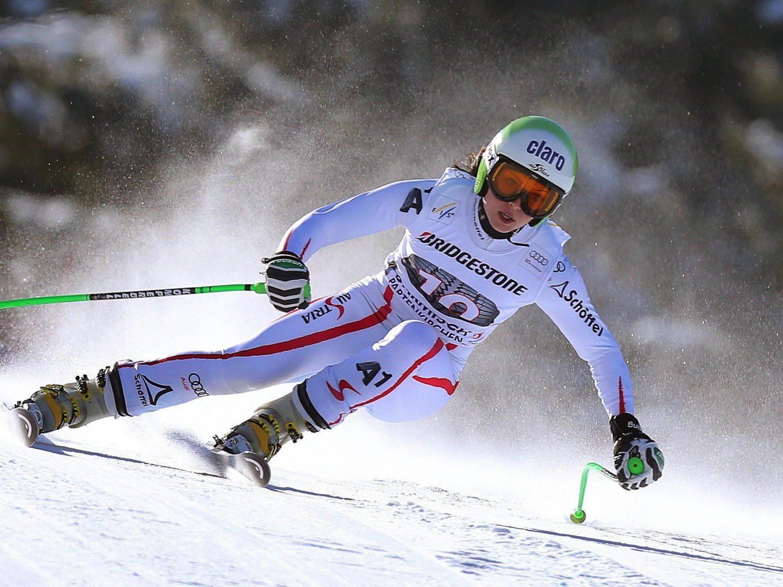 Ann Fenninger wurde als beste Österreicherin Vierte im Super-G in Garmisch.