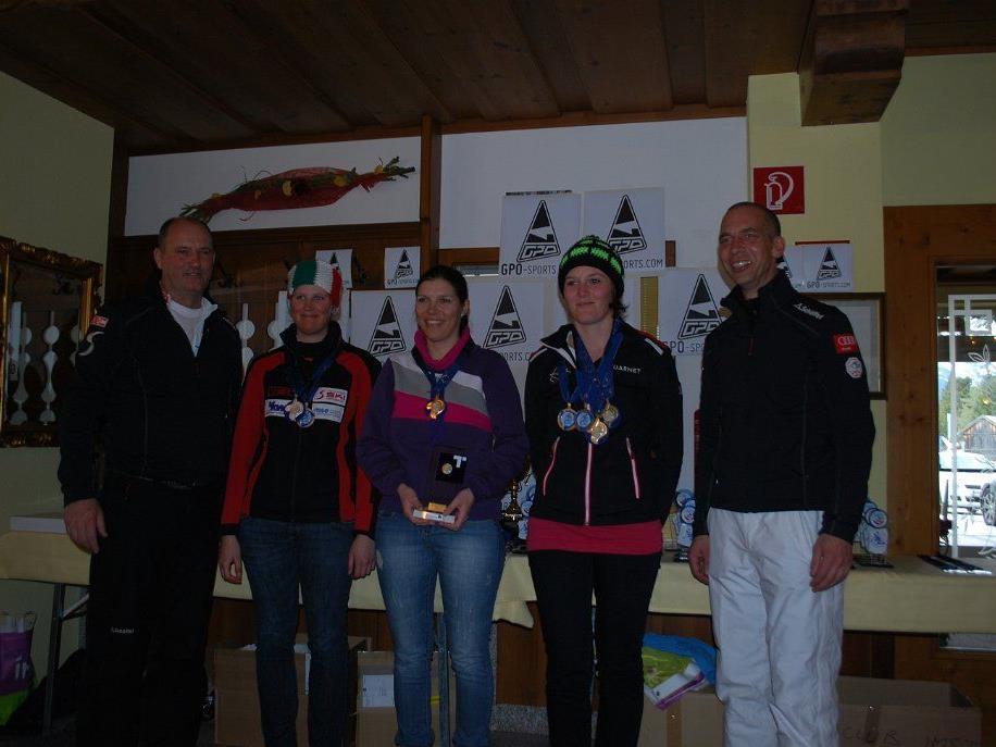 Sieben EM-Goldene holten die Vorarlberger Firngleiter beim Großereignis.