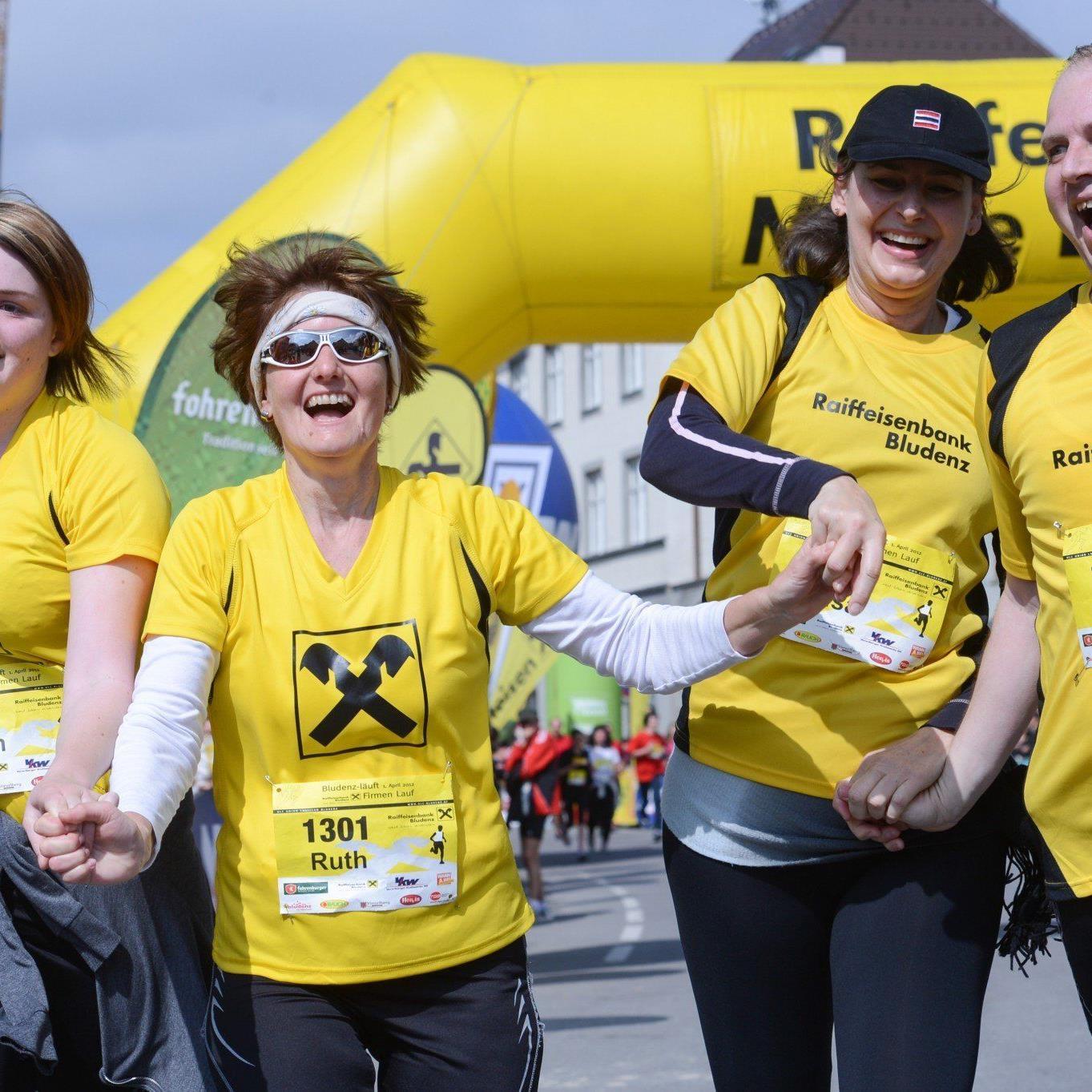 Etwa 3000 laufbegeisterte Sportler werden in der Alpenstadt Bludenz für ein Megaevent sorgen.