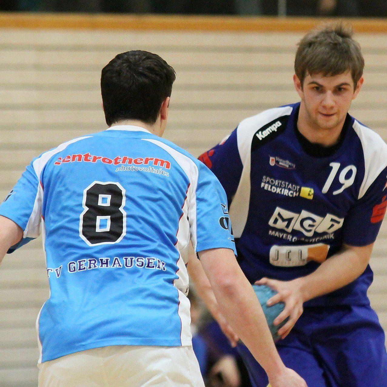 Feldkirchs Handballer siegten in Deutschland