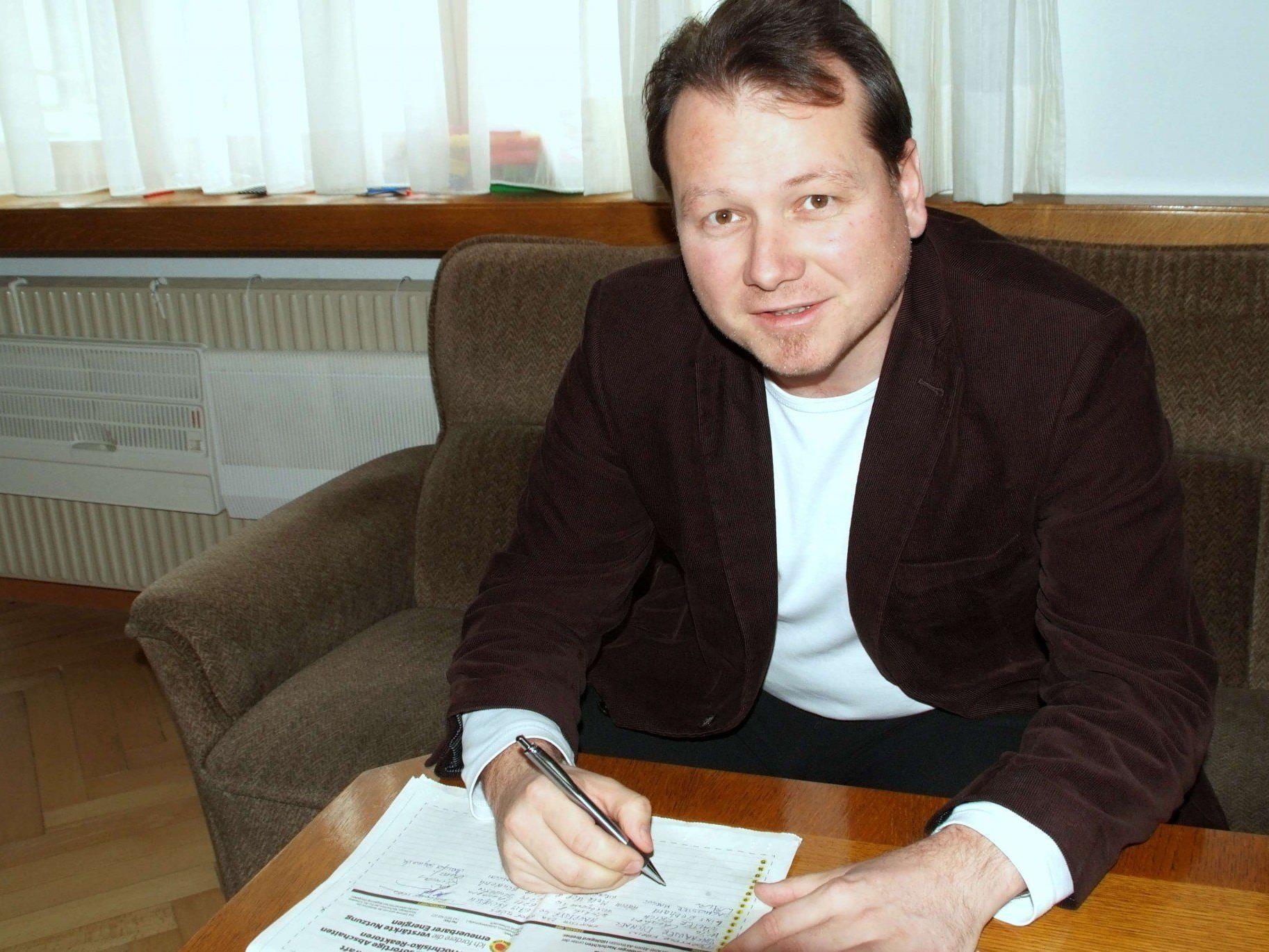 Bgm. Harald Witwer erhielt volle Zustimmung zum Budget 2013