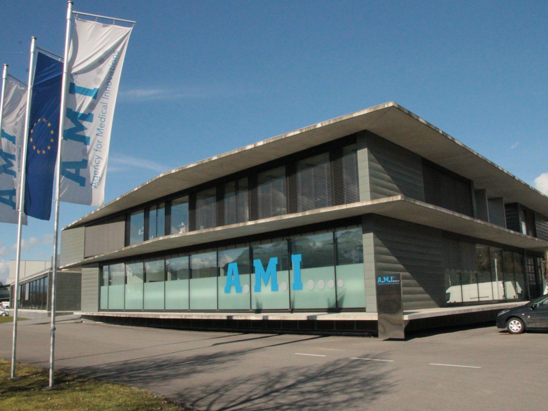 Die Firma A.M.I. (Agency for Medical Innovations) baut eine neue Produktionshalle in Gisingen.