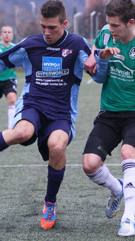 Der Bresner Matthias Flatz blieb im Unter-18-Spiel ohne Torerfolg.